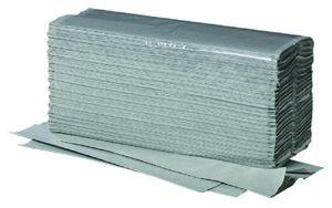 Papierhandtuecher ZZ/V-Falz, 1-lagig 100% Recycled VE 5000 Stk. gruen