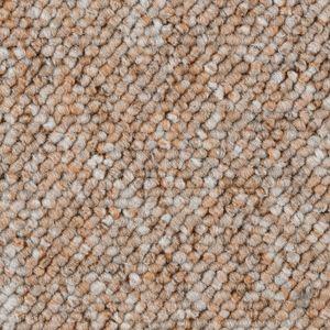 Teppichboden, Auslegware, Meterware, 400 cm x 350 cm, terrakotta, Blauer Engel , Schlinge