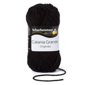 Schachenmayr Catania Grande, 9807331-03110, Farbe:Black, Handstrickgarne