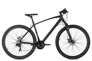 Mountainbike 29'' Larrikin schwarz Aluminiumrahmen RH 46 cm KS Cycling