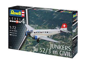 Revell 04975 1:72 Junkers Ju52/3m Civil