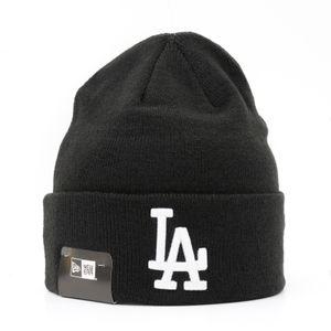 New Era Cuff Dodgers Beanie, black