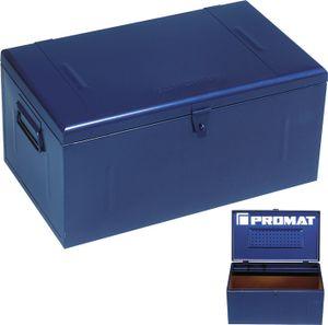 PROMAT Stahlblechkoffer blau 690x360x310mm