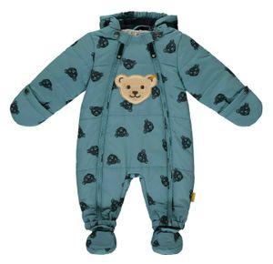 STEIFF® Baby Jungen Schneeanzug Bär, Größe:68, Präzise Farbe:Blau