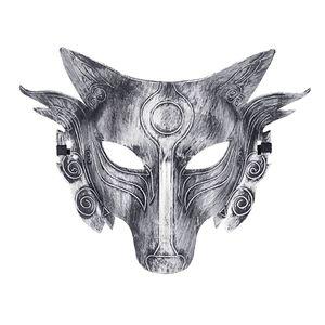 Cosplay Wolf Kostümmaske Vollgesicht für Männer Frauen ZEN90808001B