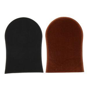 2 Stück Selbstbräuner Körper Applikator Creme Lotion Handschuh Selbstbräuner