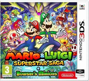 Mario and Luigi: Super Star Saga + Bowser's Minions 3D