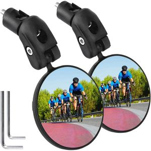 2 Stück Rückspiegel Fahrrad eBike Spiegel Fahrradlenker MTB E-Bike Links Rechts