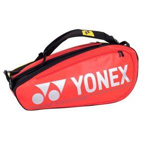 Yonex Pro Racket Bag 9R Tennistasche Rot