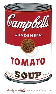 Andy Warhol - Campbell's Soup I Kunstdruck 60x100cm.