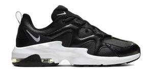 NIKE Herren Freizeitschuhe Sportschuhe Trendschuhe AIR MAX GRAVITION LEA schwarz, Größe:45
