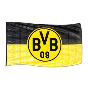 Borussia Dortmund BVB-Hissfahne ca. 250 x 150 cm