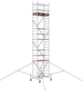 Rollfix 800 | inkl. Rollen (Ø 150 mm) | Standardtraverse | 4x Dreieckausleger | Rollgerüst