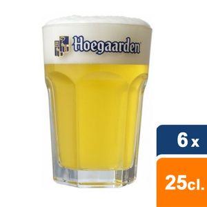 Hoegaarden Weißbier Gläser 25 cl - 6 Stück