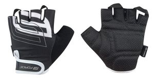 FORCE Fahrrad Handschuhe SPORT Sommer, Schwarz, Gr.L