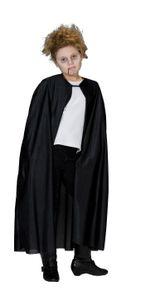 Rubie's Vampir Graf Dracula Fledermaus Umhang Kostüm Vampirumhang Halloween Karneval Schwarz 152