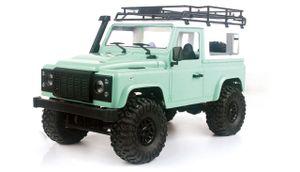 Geländewagen Crawler 4WD 1:16 Bausatz metallic grün