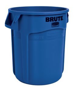 Runder Brute Container, 75,7 Liter, Rubbermaid, Farbe:Blau