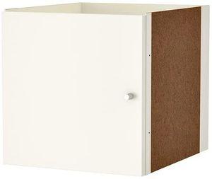 IKEA KALLAX  Regaleinsatz mit Tür weiß