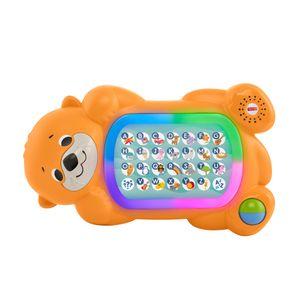Fisher-Price BlinkiLinkis Otter, Baby-Spielzeug mit Musik, Lernspielzeug