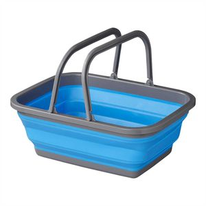Faltbare Spülschüssel Waschschüssel Klappbar Silikonschüssel Camping Boot WoMo