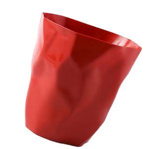 Kreative Unregelmäßige Mülleimer Abfalleimer Für Home Office Auto Rot Klein Neugierde Andere Solide