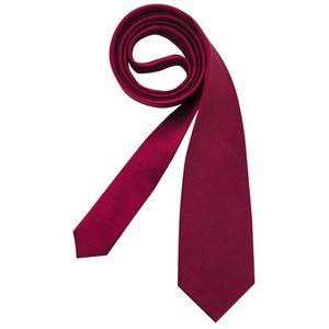 Seidensticker Schwarze Rose Krawatte 7cm Regular Fit Rot 100% Seide