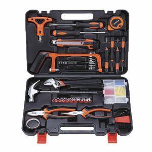 Dowofuu Multifunktions-Hardware-Werkzeugkasten Elektriker Holzreparatur Handwerkzeug-Kombinationsset
