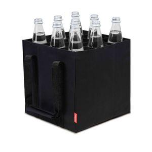 9er Bottle-Bag, Flaschentasche für 9 x 1,5 Liter Flaschen, Tragetasche mit Trennwände