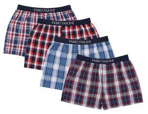 4er Boxershorts Set Webboxer Herren Boxer Shorts Unterhose Unterwäsche Baumwolle, Größe:L, Setnummer:Set 1