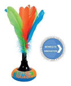 Schildkröt Neopren Peteca, Handfederball mit weicher Neopren Schlagfläche, Indiaca - das Trend-Spiel aus Südamerika, Brazilian Shuttle im trendigem Design, im Blister