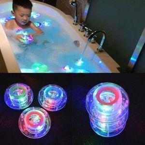 2x Kinder Baby Badewanne Spielzeug Bath LED Licht Lampe Ball Badespielzeug Badespaß