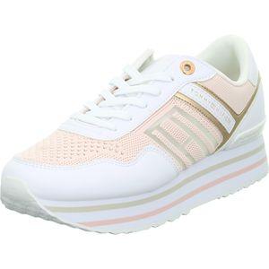 Tommy Hilfiger Sneaker Low KNITTED FLATFORM SNEAKE Rosa Damen