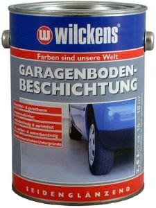 Garagen Bodenbeschichtung 2,5L Beton Boden Estrich Garage Farbe Beschichtung, Farbe:Kieselgrau