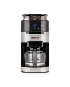 GASTROBACK 42711 Grind & Brew Pro Kaffeeautomat mit Mahlwerk, Farbe:Schwarz