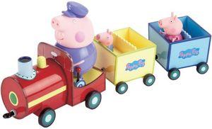 Peppa Pig - Peppa Wutz ein Zug mit Figuren Spielzeug