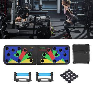 Push Up Board Muskeltraining Push-up Brett mit Handgriff, Gummi Pads und Tasche für Männer Frauen Home Training Outdoor Bauchmuskel