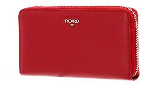 PICARD Bingo Zip Around Wallet Red