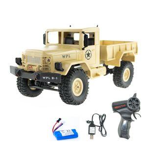 WPL B-14 gelb Militär LKW 1:16