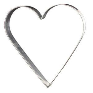 Lares Riesen-Ausstechform Herz 19 cm - Lebkuchen-Ausstecher groß 1110