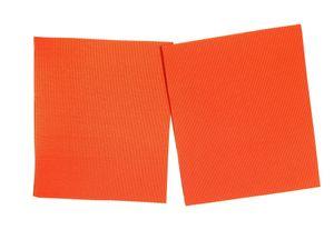 2 Stk. Selbstklebendes Zelt Reparatur Patch orange Nylon Aufkleber Flicken