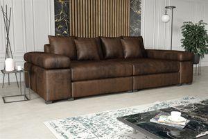 Big Sofa Couchgarnitur PORTER Sofa in div. Farbvarianten