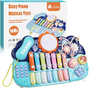 Musikinstrument Musikspielzeug Spielzeug für Kinder, Percussion Instrument Set Baby Spielzeug