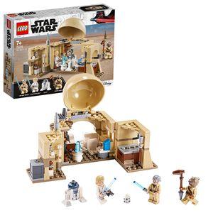 LEGO 75270 Star Wars Obi-Wans Hütte Bauset mit Hologramm der Prinzessin Leia, Serie Eine Neue Hoffnung
