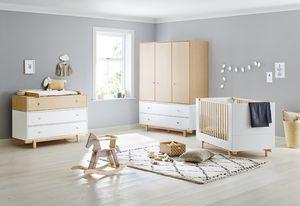 Kinderzimmer 'Boks' breit groß mit 3 Türen