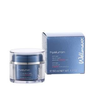 Wellmaxx hyaluron anti-age day & night absolute cream rich 50 ml Gesichtspflege
