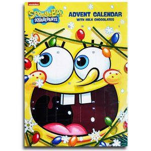 SpongeBob - Adventskalender mit Schokolade, Schoko Weihnachts Kalender