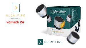 Glow Fire Jupiter Elektro Wandkamin schwarz oder weiss