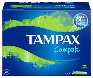 Tampax Compak Super (22 Stück)