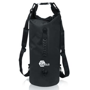 yourGEAR Dry Bag 30 L wasserdichter Rucksack Packsack Seesack Stausack mit Schultergurten, Tragegriff und Ventil